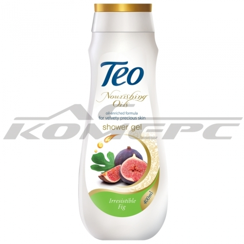 Душ гел ТЕО Nourishing Oils Irresistible fig 400мл
