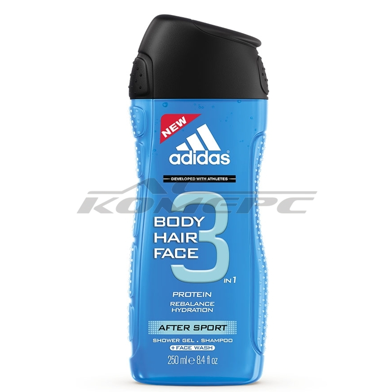 Душ-гел ADIDAS ACTION 3 AFTER SPORT 250мл