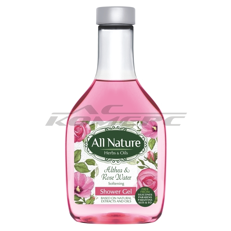 Душ-гел ALL NATURE Althea & Rose