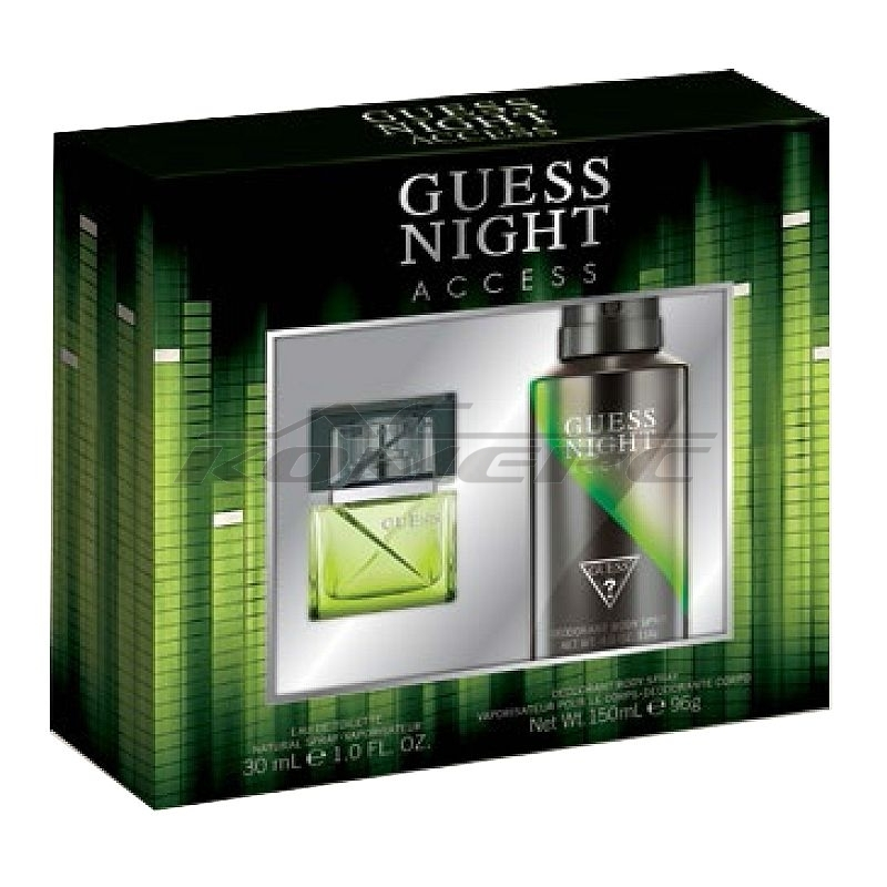 Комплект GUESS Night Men Flanker /ЕДТ 30мл + Део 150мл/
