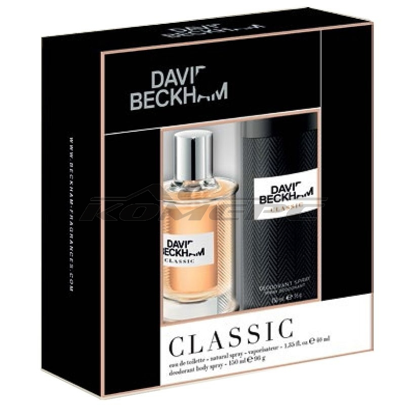 Комплект DAVID BECKHAM Classic Men /ЕДТ 40мл + Део 150мл/